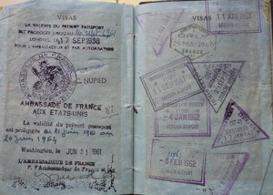 lesley blanch passport