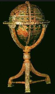 jewel studded globe iranian crown jewels