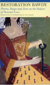 Restoration Bawdy ed. John Adlard (Carcanet Press)