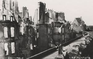 saint malo after world war two