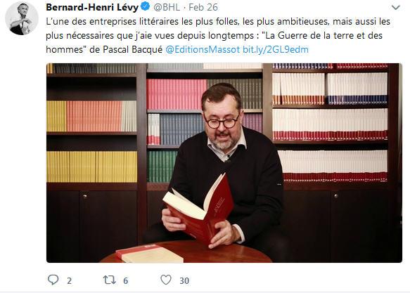 twitter feed bernard henri levy