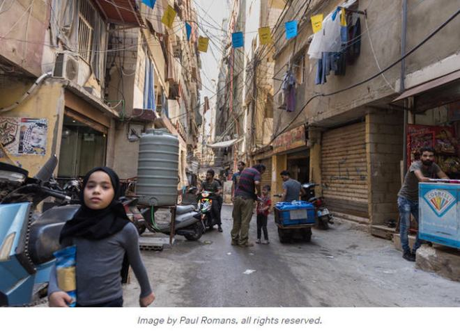 shatila copyright paul romans