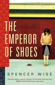 The Emperor of Shoes by Spencer Wise bookblast diary