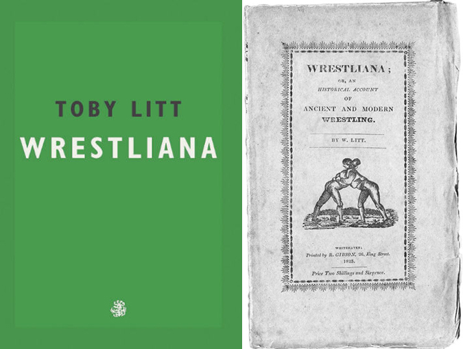 wrestliana toby litt review bookblast diary