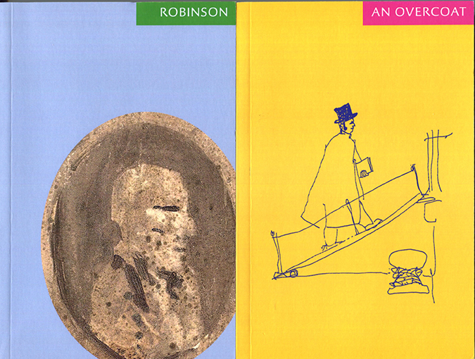 Review | Robinson and An Overcoat, both by Jack Robinson a.k.a. Charles Boyle