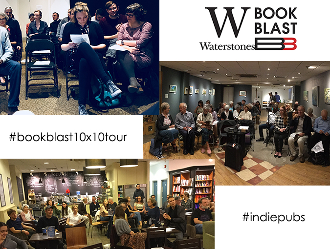 Breaking News | The BookBlast 10×10 Tour in association with Waterstones