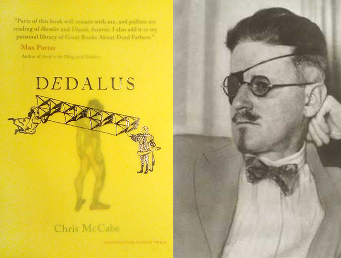 dedalus chris mccabe bookblast diary review