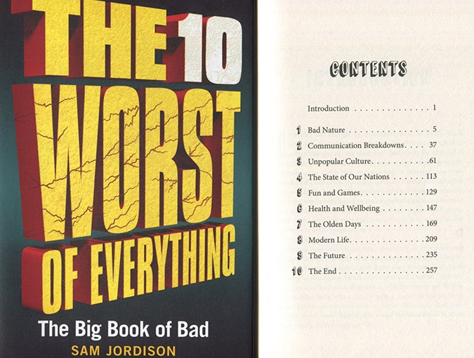 Review | The 10 Worst of Everything: The Big Book of Bad, Sam Jordison | Book of the Week
