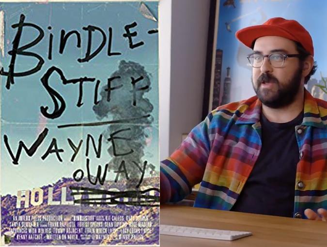 Bindlestiff Wayne Holloway bookblas review