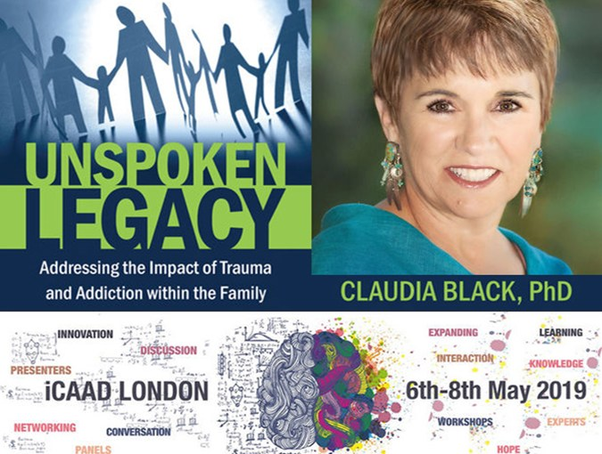 Unspoken Legacy Claudia Black Central Recovery Press bookblast diary