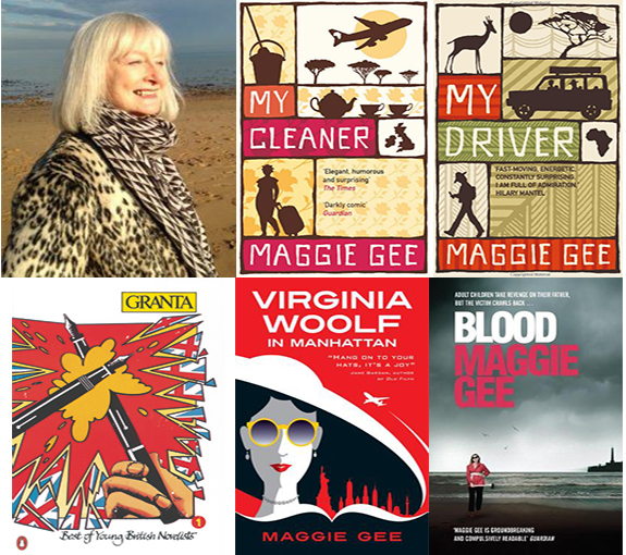 maggie gee exclusive interview bookblast diary