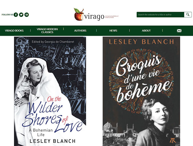 Lesley Blanch Archive | Lesley Blanch: One of a Kind | virago.co.uk