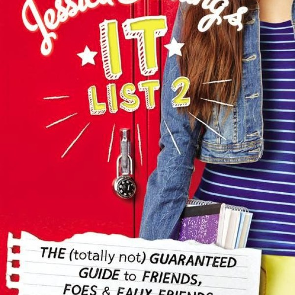 """""""On Wednesdays, We Wear Pink"""" Early Review: Jesslca Darling's It List #2: The (Totally Not) Guaranteed Guide to Friends, Foes, and Faux Friends by Megan McCafferty"""