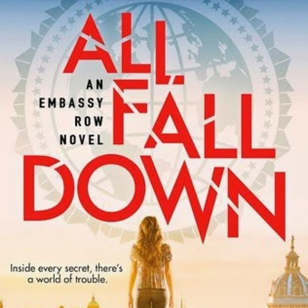 """Where Do We Begin/The Rubble or Our Sins?"" GIVEAWAY + Early Review: All Fall Down by Ally Carter"