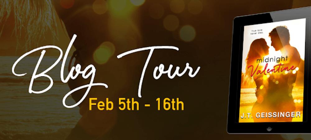 BLOG TOUR and REVIEW: MIDNIGHT VALENTINE by J. T GESSINGER @JTGeissinger @InkSlingerPR