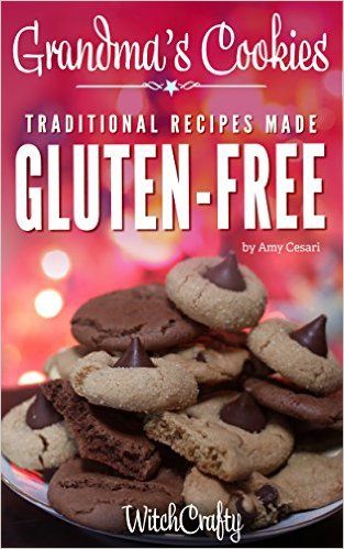 Book Cover: Grandma's Cookies: Recipes Made Gluten-Free by A. Cesari