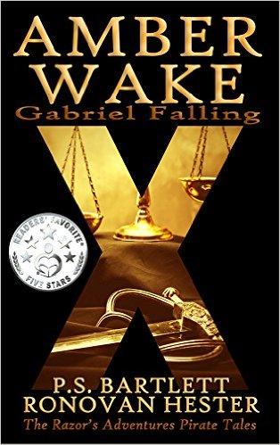 Book Cover: Amber Wake: Gabriel Falling byRonovan Hester