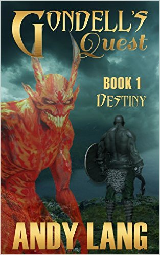 Book Cover: Gondell's Quest byAndy Lang