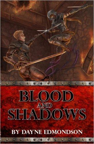 Book Cover: Blood and Shadows byDayne Edmondson