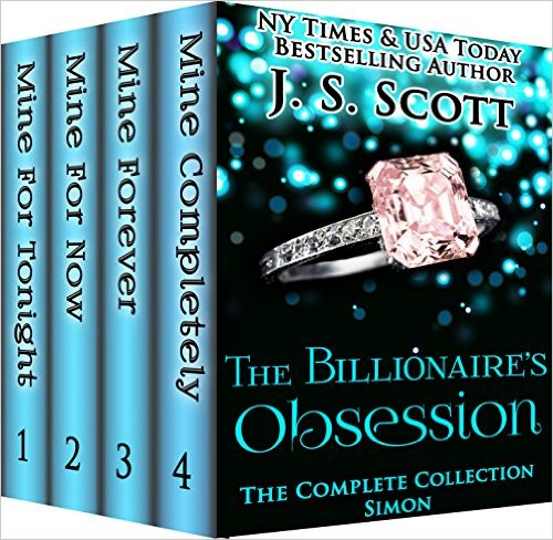 Book Cover: The Billionaire's Obsession: The Complete Collection Boxed Set by J.S. Scott