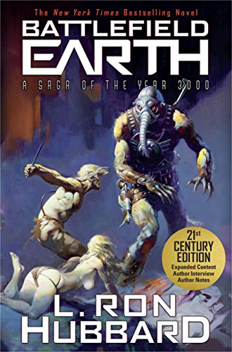 Book Cover: Battlefield Earth by L. Ron Hubbard