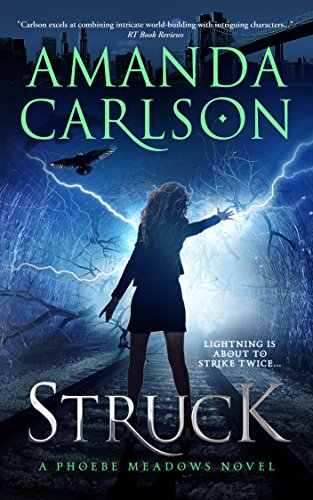 Book Cover: STRUCK by Amanda Carlson
