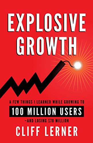 Book Cover: Explosive Growth by Cliff Lerner