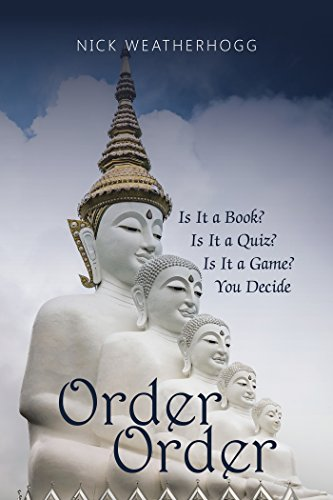 Book Cover: Order Order by Nick Weatherhogg