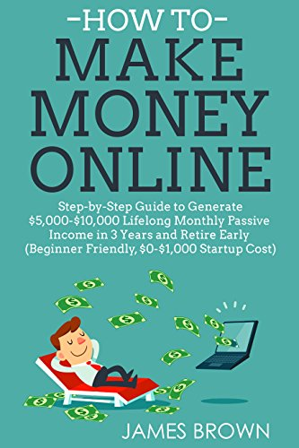 Book Cover: HOW TO MAKE MONEY ONLINE by James Brown