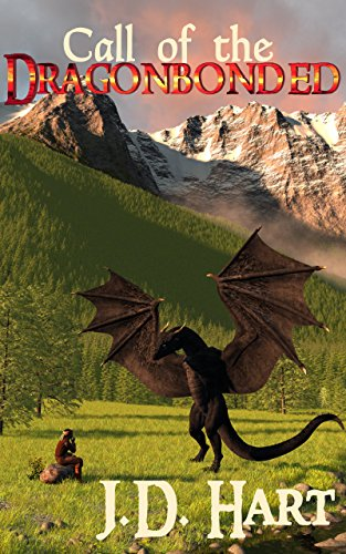 Book Cover: Call of the Dragonbonded: Book of Fire byJD Hart
