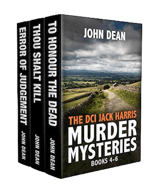 Book Cover: The Dci Jack Harris Murder Mysteries Books 4-6 by John Dean