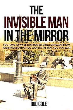 The invisible man in the mirror
