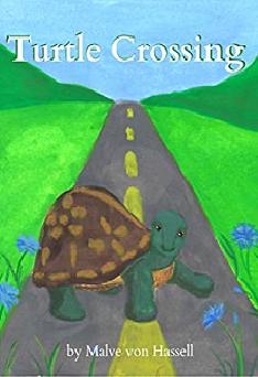 Turtle crossing by Malve von Hassell