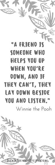 Winnie the Pooh has the best quotes about friendship