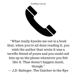 Quote from J.D. Salinger