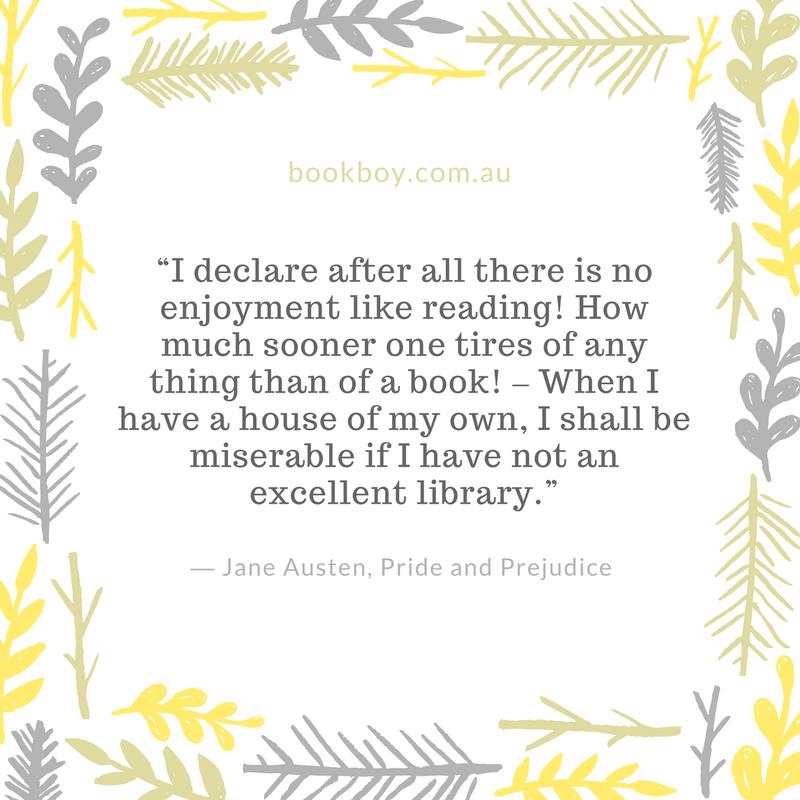 Jane Austen Quote For Readers