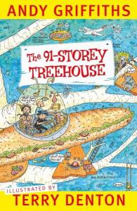 The 91-Storey Treehouse reviewed by a kid book blogger