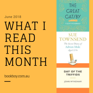 What I read this month | bookboy.com.au