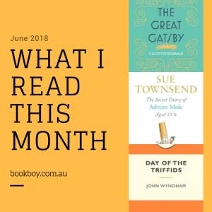 What I read this month | bookboy.com.au