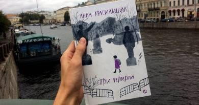 Анна Красильщик Три четверти
