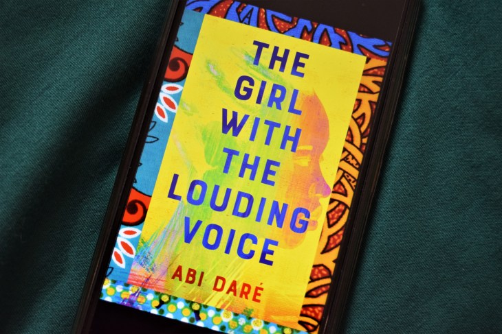 The Girl with the Louding Voice ebook cover