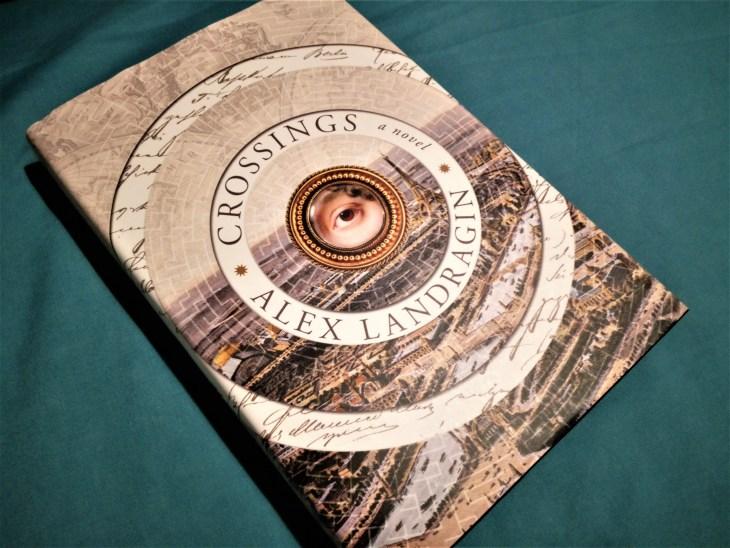 Crossings hardback book cover