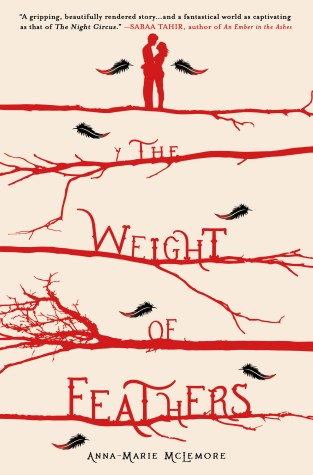 {Review+Giveaway} The Weight of Feathers by Anna-Marie McLemore @LaAnnaMarie