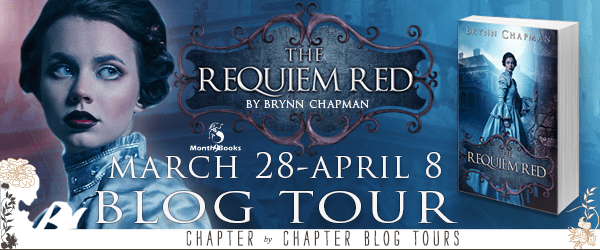 {Review+Giveaway} The Requiem Red by Brynn Chapman @rrsmythe @Month9Books