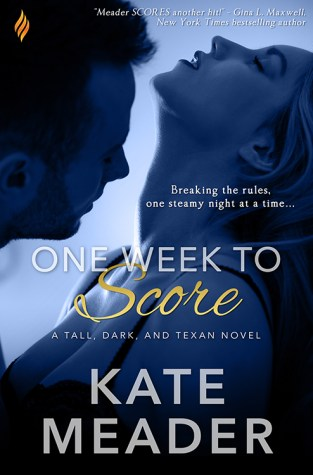 {Review+Giveaway} One Week to Score by Kate Meader @kittymeader @BrazenBooks