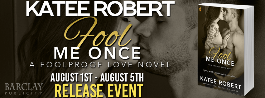 {Review+Giveaway} Fool Me Once by @Katee_Robert @BrazenBooks @entangledpub