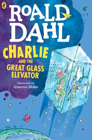 {Excerpt+Giveaway} Charlie and the Great Glass Elevator by @roald_dahl #roalddahl100