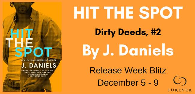 {Review+Giveaway} Hit the Spot by J. Daniels @JDanielsbooks @ForeverRomance