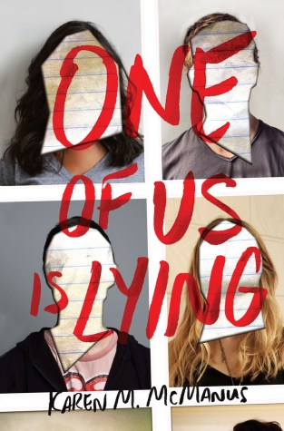 {Review+Giveaway} One Of Us is Lying by Karen McManus @writerkmc @DelacortePress