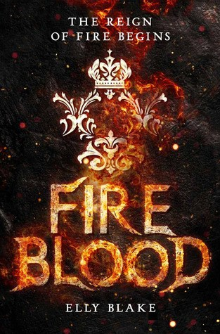 {ARC Review} Fireblood by @Elly_Blake @TheNovl